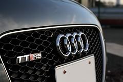 Audi TT RS Emblem and grill