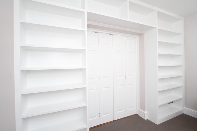 White modern bookcase around door | Flickr - Photo Sharing!