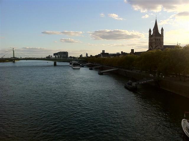 QUÉ HACER EN COLONIA: Vista del importante río Rhin qué hacer en colonia - 6249168388 c8c23efa3e z - Qué hacer en Colonia, Alemania