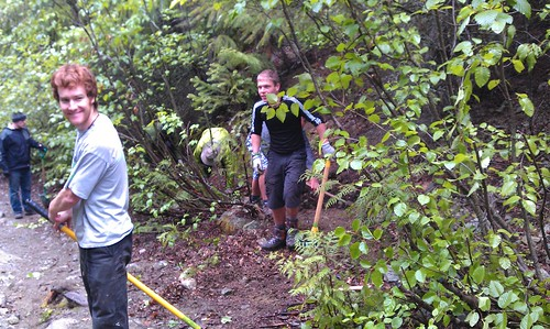 Trail Maintenance on Green Lake Loop