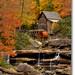Glade Creek Grist Mill by James Korringa