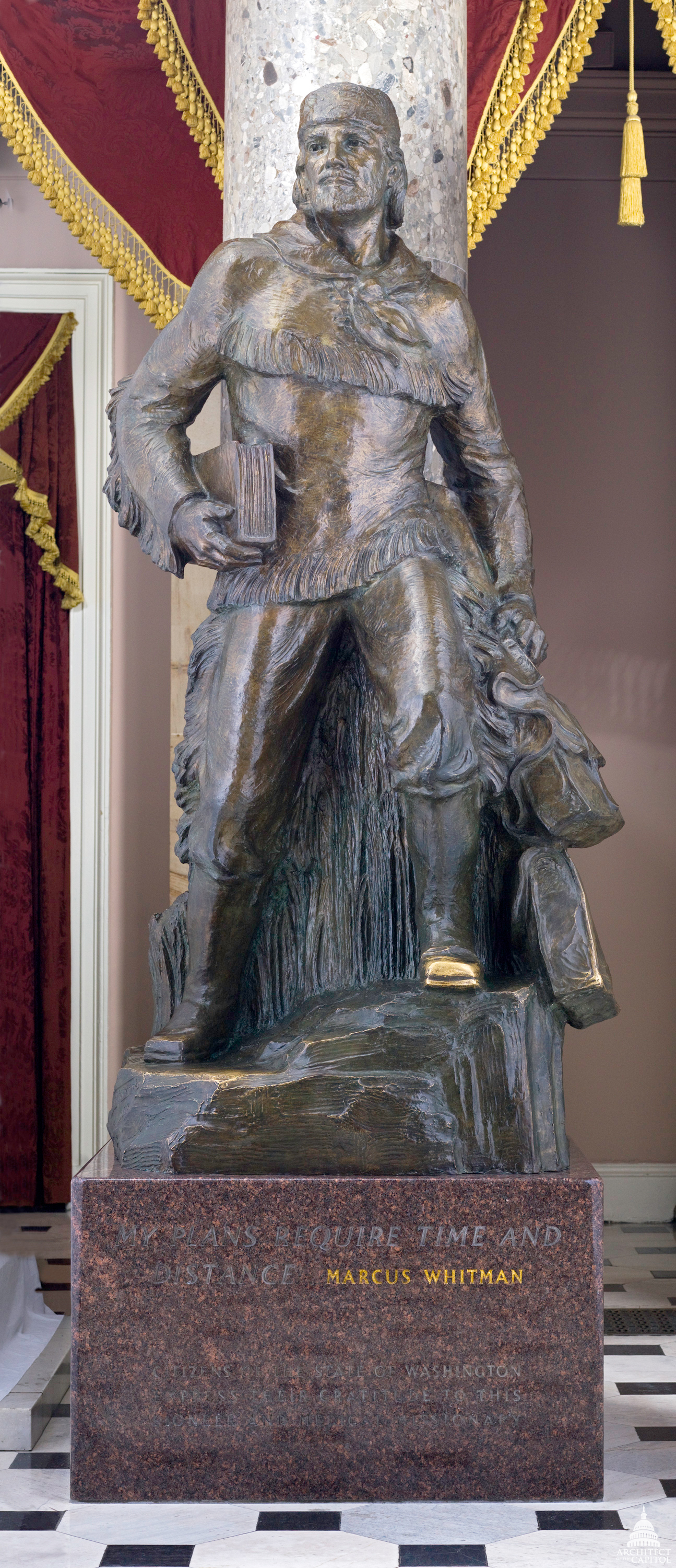 Marcus Whitman Architect Of The Capitol