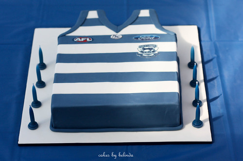 Afl Jumper Cake This Cake Was For My Son S 13th Birthday