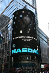 Times Square Nasdaq tower with EH Ads 2