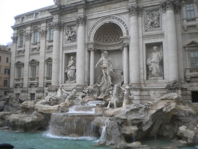 La Fontana di Trevi de Roma