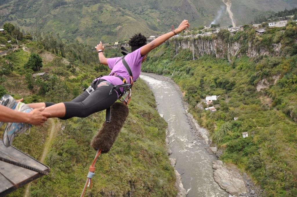 Just JUMP! Baños, Ecuador