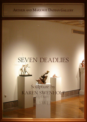 Seven Deadlies: Sculpture by Karen Swenholt