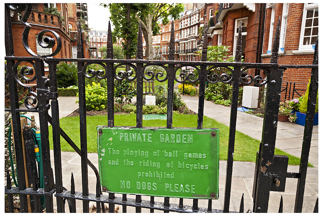Private Garden, Chelsea, by Seth Anderson
