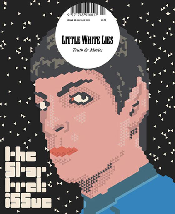 Siggi Eggertsson, Spock, Cover image for the Star Trek issue of Little White Lies