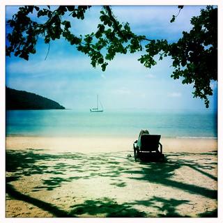 Immagine di Cabana on Datai Beach Spiaggia con una lunghezza di 1161 metri. langkawi hipstamatic