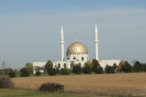 Mosque just South of Toledo, Ohio on I-75