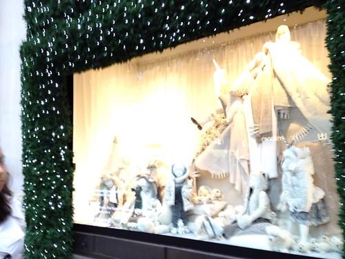 Selfridges (セルフリッジ)のクリスマスディスプレイ