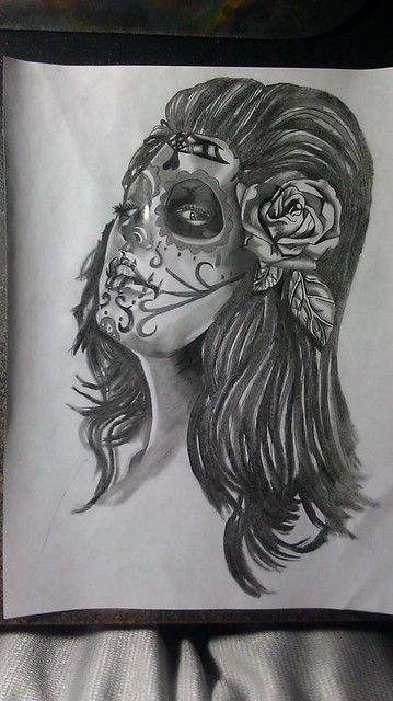 Sugar Skull Girl Flickr Sharing