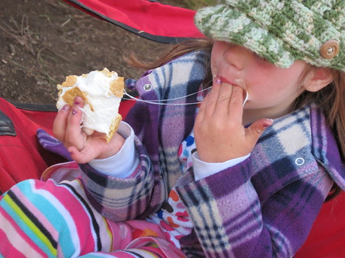 S'mores at the Metolius#2
