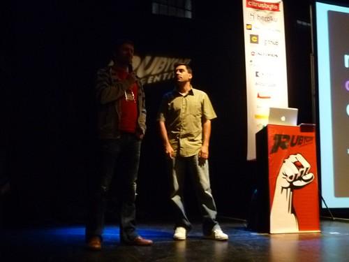 Matt Aimonetti at RubyConf Argentina