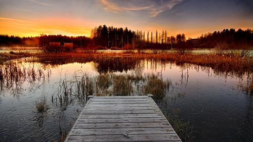 sunrise espoo finland frost 169 flickraward puolarmetsä natureselegantshots bestcapturesaoi mygearandme mygearandmepremium artistoftheyearlevel2