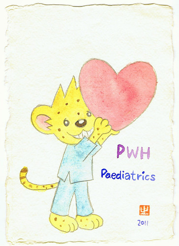 Thank you, PWH paediatrics!