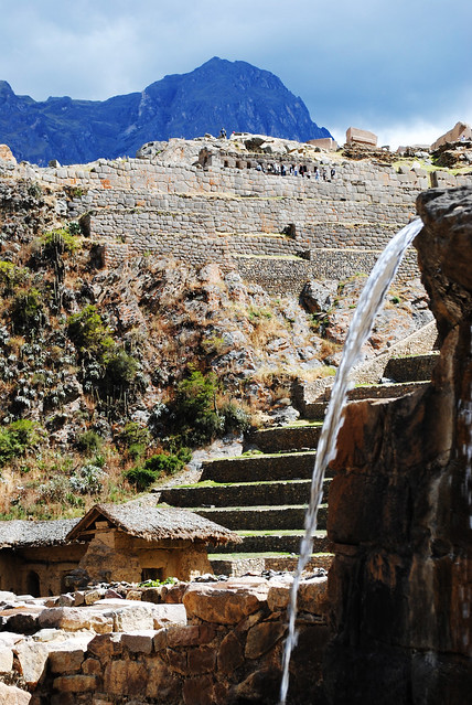 Ollantaytambo Waterfall