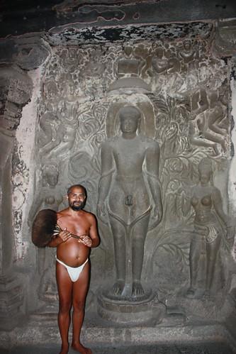 Ellora, Jain guru