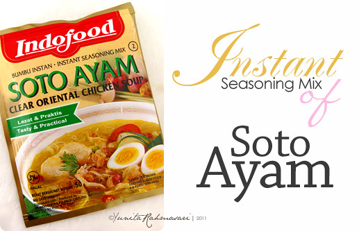 Instant Soto Ayam Seasoning Mix
