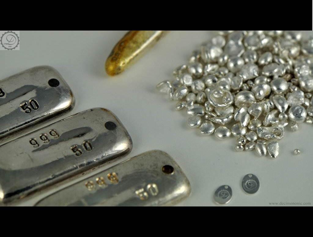 Decimononic: pure silver