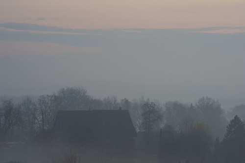 November Fog in the Reuss Valley