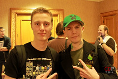 BebopVox and Deadmau5 (Notch in the background)