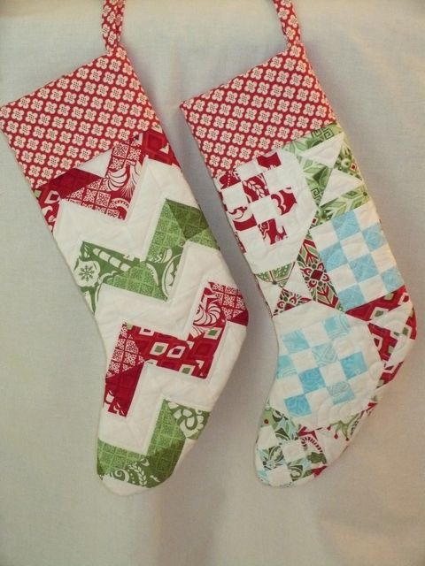 Quilted Christmas Stockings Flickr Photo Sharing