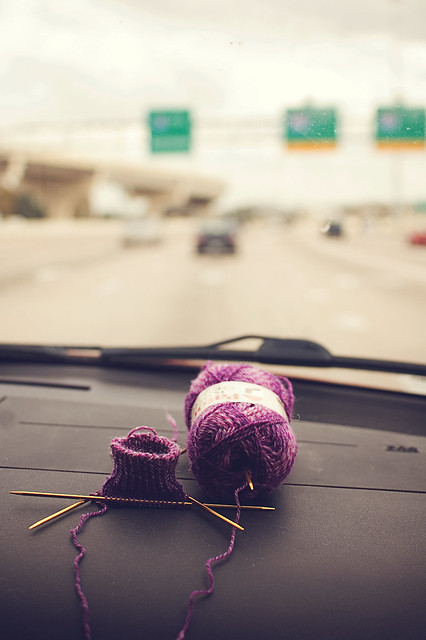 327.365: knitting on the road