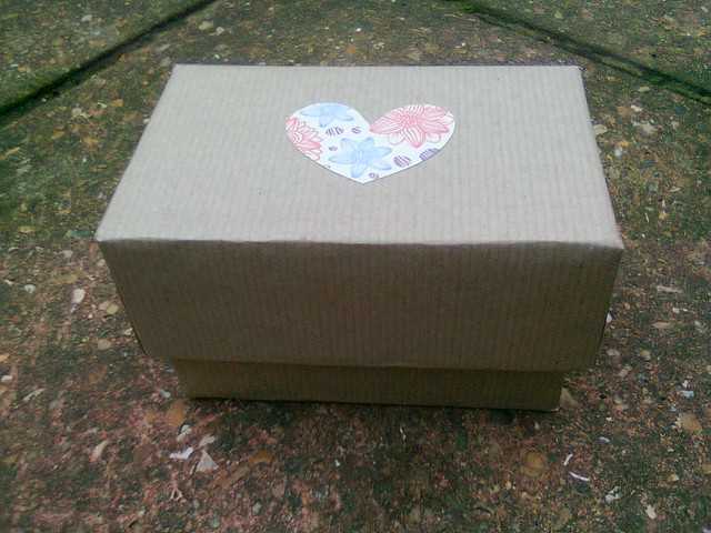 Little heart gift box