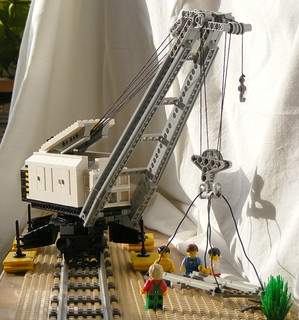 Steam crane train