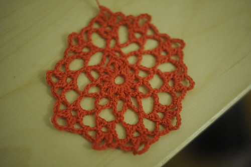 Japanese crochet doily