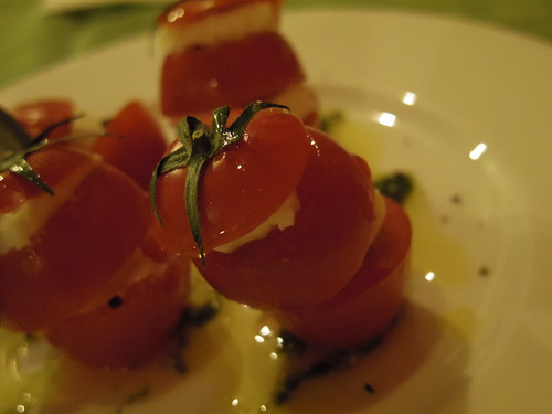 Tomato and cheese
