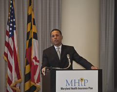Maryland Health Insurance Plan Federal Press Announcement by MDGovpics