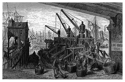 008-Limehouse Dock-London A Pilgrimage 1890- Blanchard Jerrold y Gustave Doré- © Tufts Digital Library