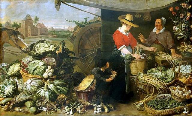 Франс-Снейдерс--Овощная-лавка