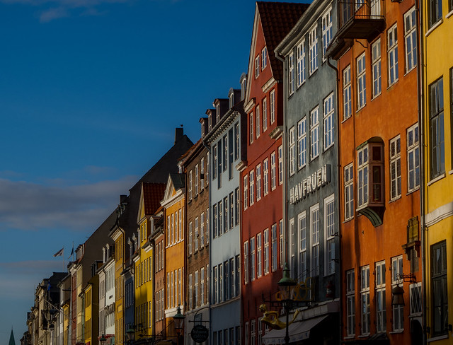 Afternoon Sun on Nyhavn