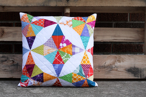 Kaleidoscope Pillow by Jeni Baker