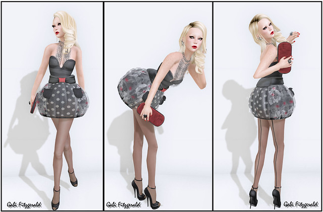LpD new balloon dress - handmade hair new - finesmith new