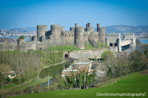 Looking across at Conwy Castle by [davidrobertsphotography]