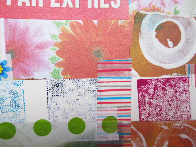 Art Journal detail: washi tape