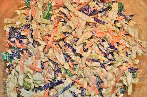 coleslaw with red cabbage