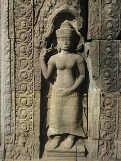 Angkor, Preah Khan, relief