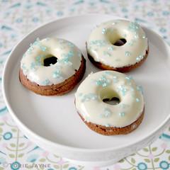 Gluten free Mini chocolate doughnuts