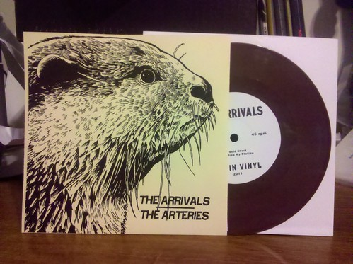 "The Arrivals / The Arteries - Split 7"" - Brown Vinyl /100"