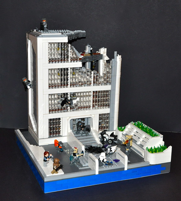 LEGO Halo: Reach - Project: New Alexandria (Highrise)