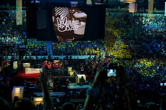We Day 2011- Shaq on stage