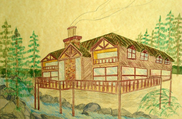 Lodge Logs - 20 Log Home Floor Plans
