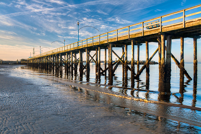 HDR of the White Rock Pier