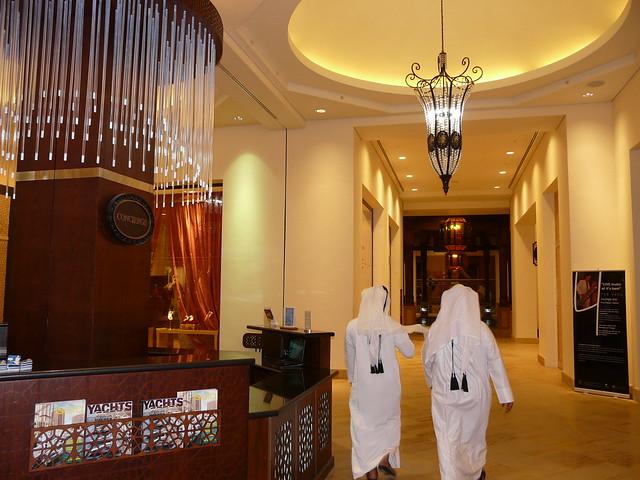 Imagen en un hotel de Doha (Qatar)